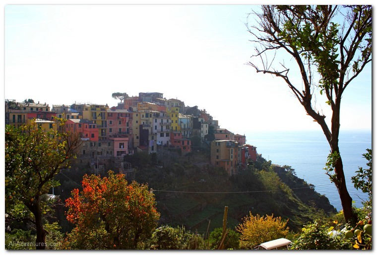 how much I spent traveling in Cinque Terre, Italy