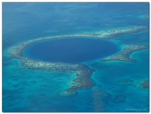 Blue Hole Reef Scenic Flight in Belize