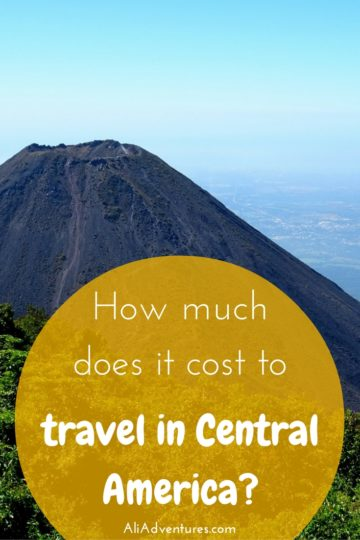 how much we spent traveling in Central America - Belize, Guatemala, Honduras, El Salvador