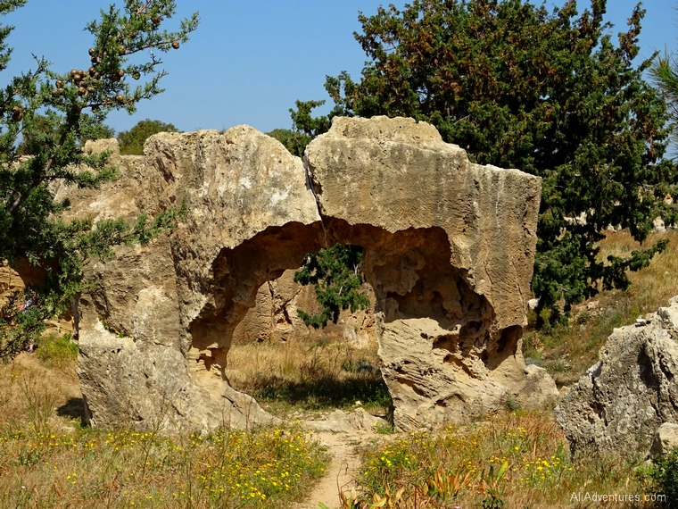 Paphos, Cyprus - Tombs of Kings photos