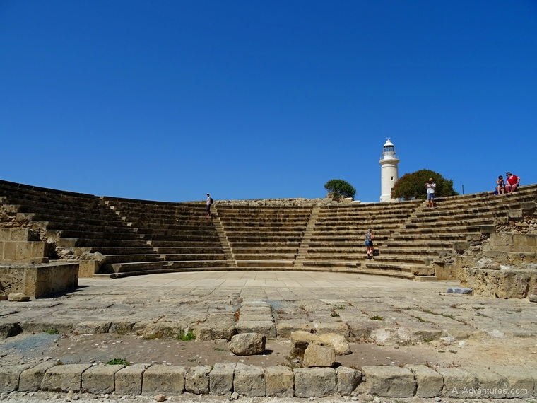 Paphos, Cyprus - archeological park photos