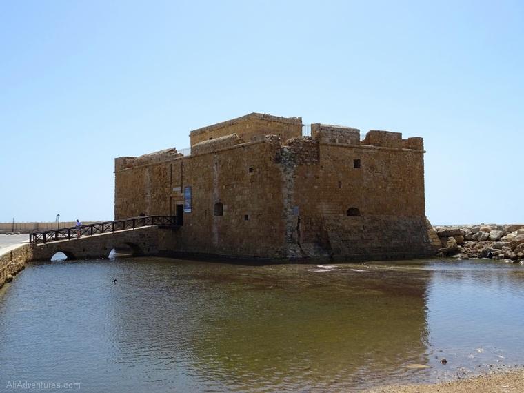 Paphos, Cyprus castle photos