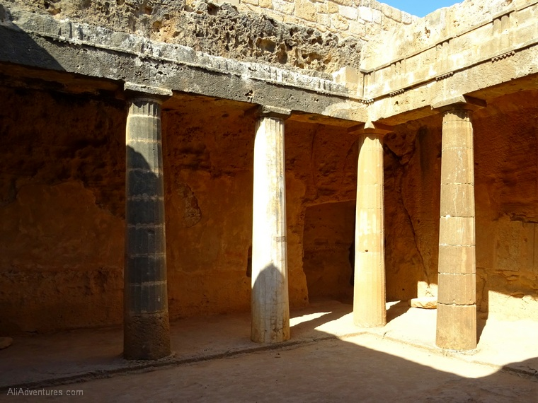 Paphos, Cyprus - Tombs of Kings photos