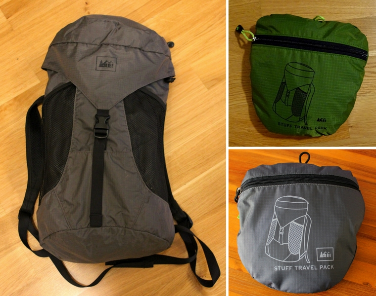 favorite luggage for traveling carry-on only - REI stuff bag