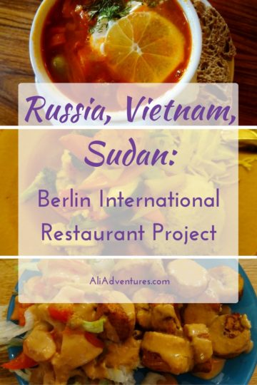 Berlin International Restaurant Project - Russia, Vietnam, Sudan