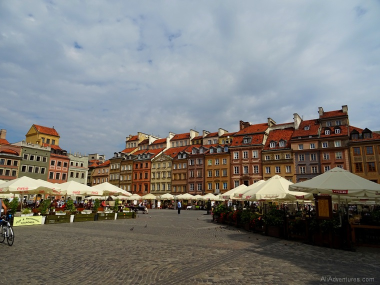 how much we spent traveling in Warsaw, Poland