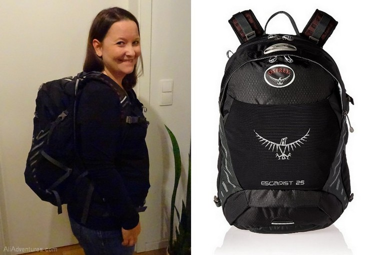 favorite luggage for traveling carry-on only - Osprey Escapist 25L backpack
