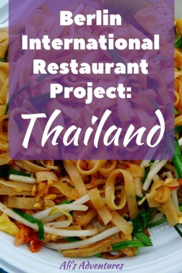 Berlin International Restaurant Project Thailand