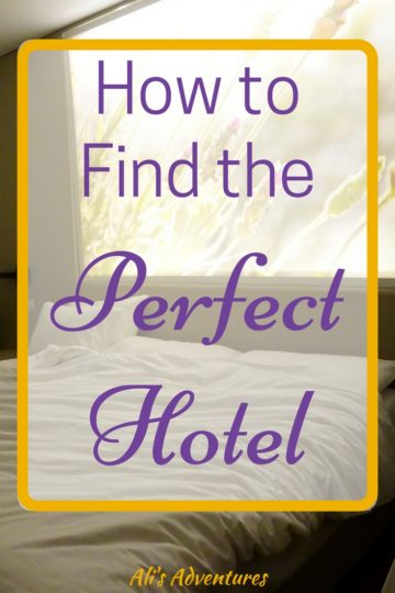 how to choose hotels for travel