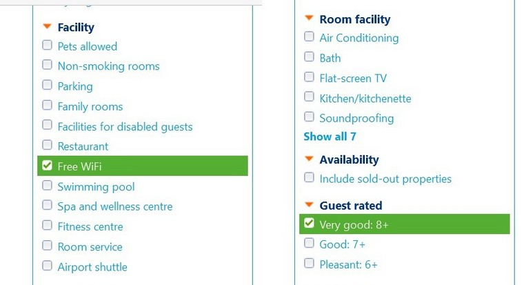 choose hotels for travel - booking.com