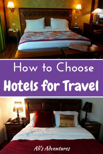 Searching for the perfect hotel for your vacation can be stressful. Here's how I choose hotels for travel to reduce the time and frustration involved.