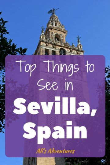 top attractions in Sevilla, Spain