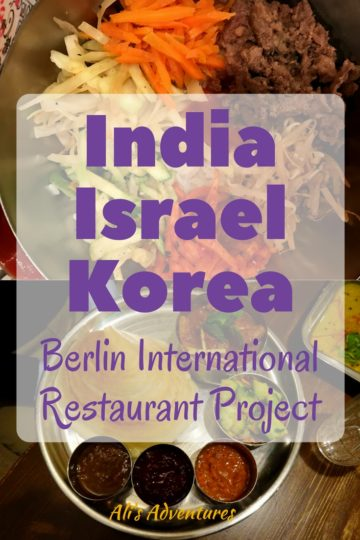 Berlin International Restaurant Project: India, Israel, South Korea