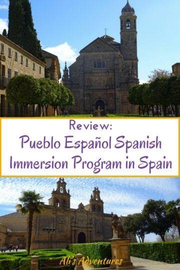 Pueblo Español Spanish Immersion Program in Spain