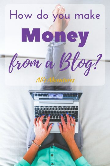 how do you make money from a blog