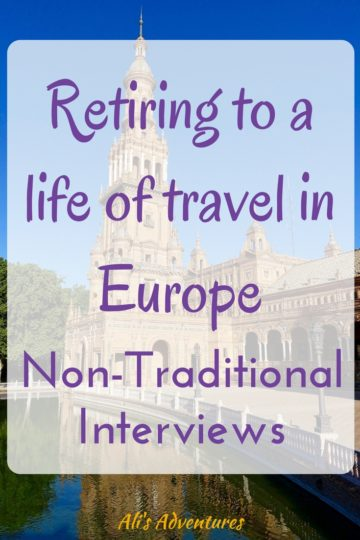 Bev and Bruce made a non-traditional decision by retiring to Europe. They have bases in Germany and Spain and travel with a cat and mobility issues.