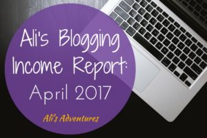 How Much Money I Make Online: Income Report April 2017