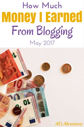 Each month I strive to show you it IS possible to make money from a blog. Here's my blogging income report for May so you can see how much I earn online.