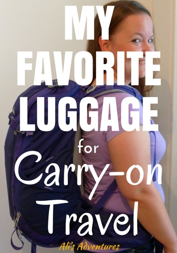 Traveling carry-on only means less stress, fewer things to lug around, and no checked baggage fees from the airlines. Before you start packing for your next trip, check out my favorite luggage for carry-on travel.