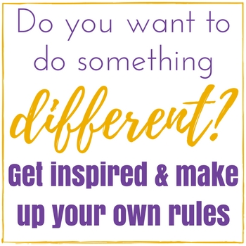 Do you want to do something different? Get inspired and make up your own rules. Check out the non-traditional people interview series and get the courage to follow your own path.