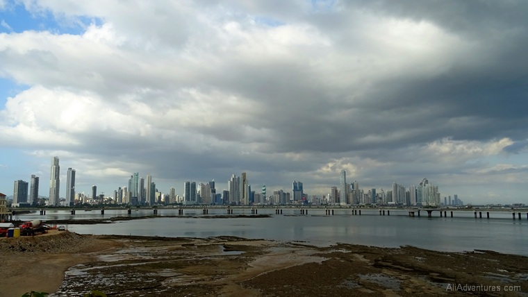Panama City view from Casco Viejo