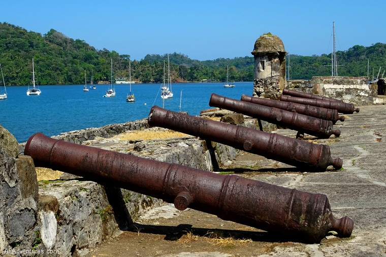 fort near Portobelo Panama