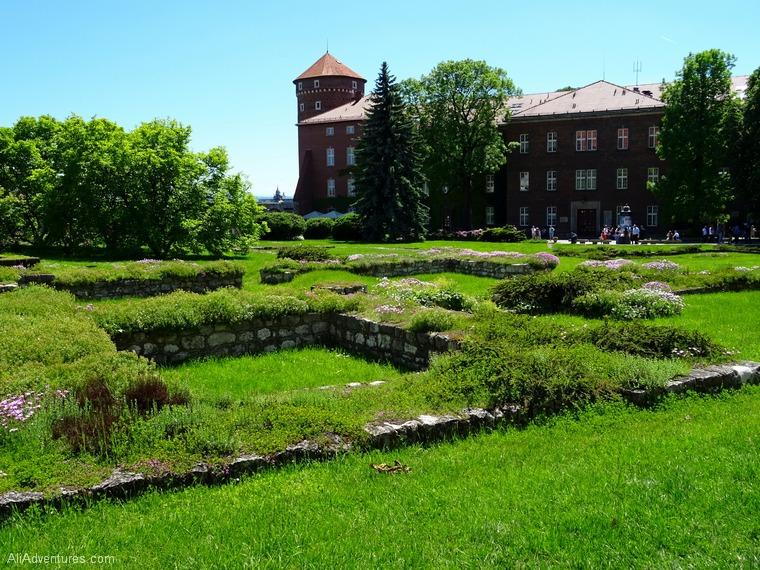 Krakow Poland Wawel Castle