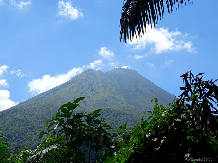 3 days in La Fortuna, Costa Rica - Baldi Hot Springs Resort - view of Arenal Volcano