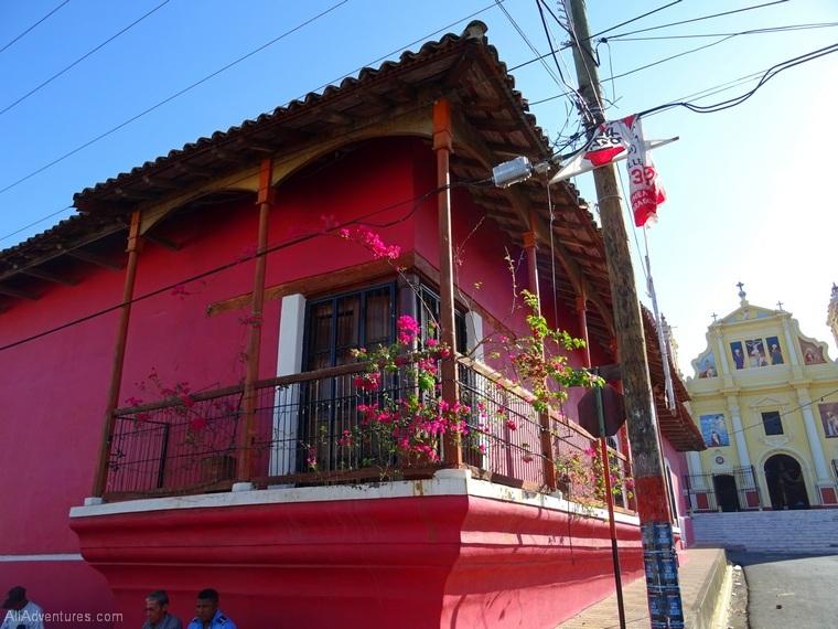 Leon Nicaragua streets