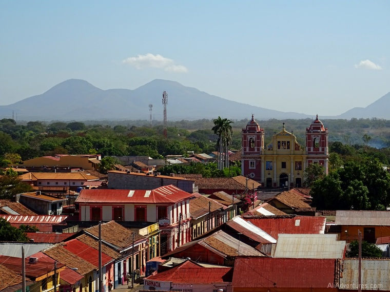 Leon Nicaragua view from cathedral