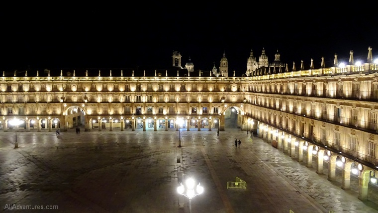how much does it cost to go to Spain - view of Plaza Mayor in Salamanca