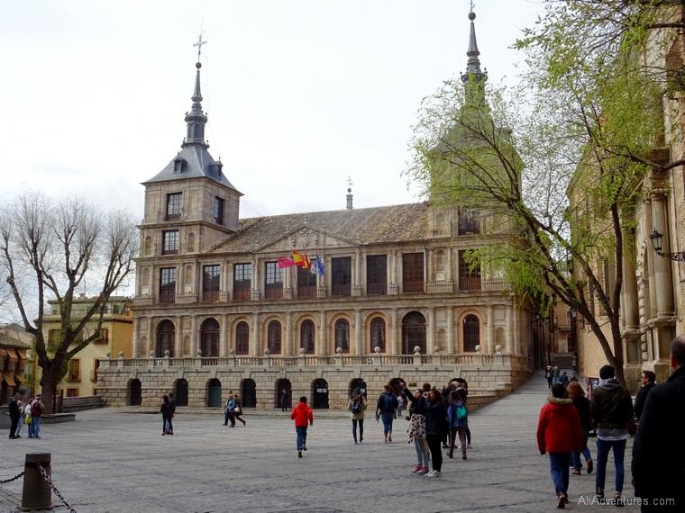 Toledo free walking tour