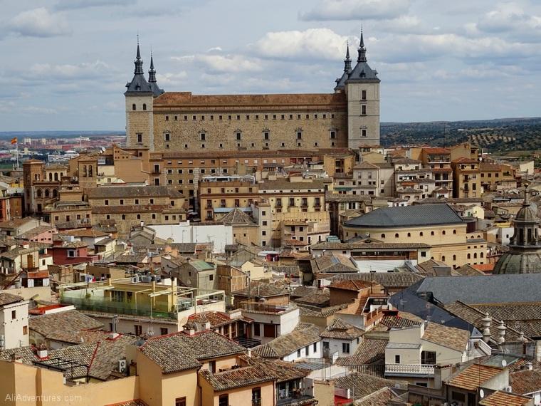 Toledo from above Alcazar