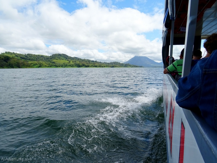 how to get from Monteverde to La Fortuna boat ride