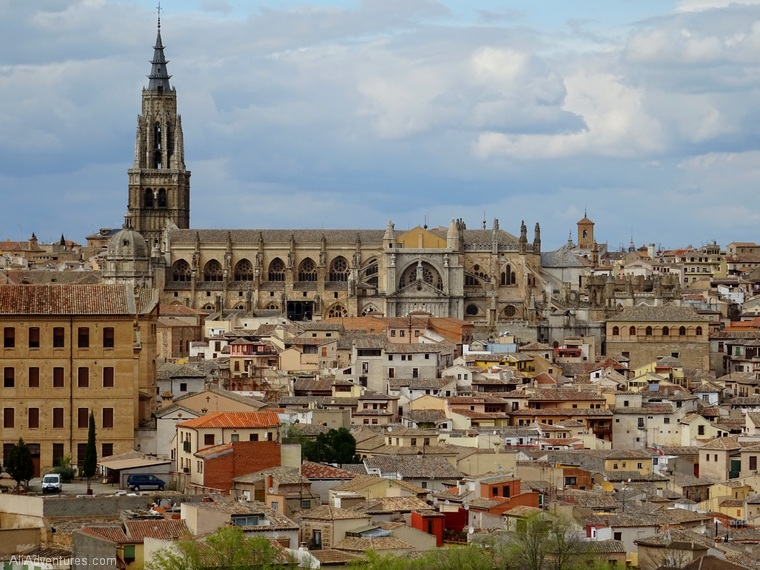 views of Toledo Spain cathedral