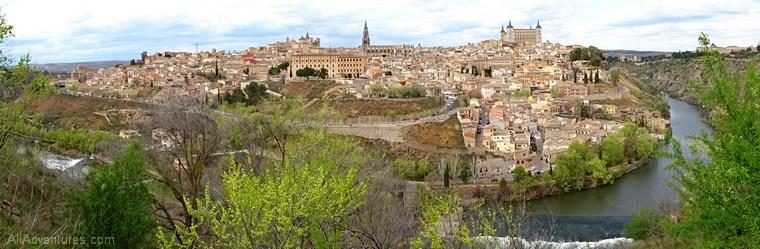 views of Toledo Spain