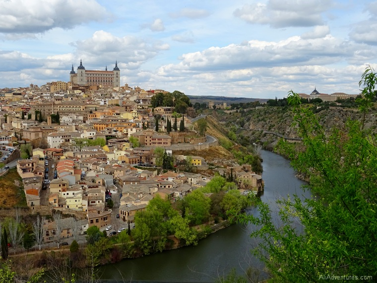 how much does a trip to Spain cost - view of Toledo